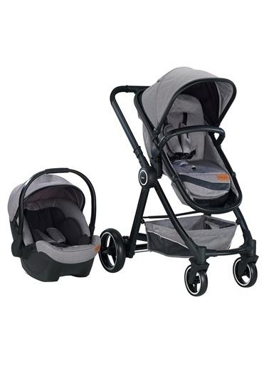 Baby2go Baby2Go Joy Travel Sistem Bebek Arabası Gri